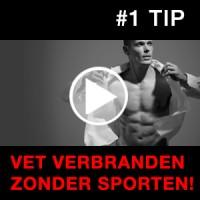 #1 tip: Hoe vet afvallen zonder sporten (Wetenschap!)